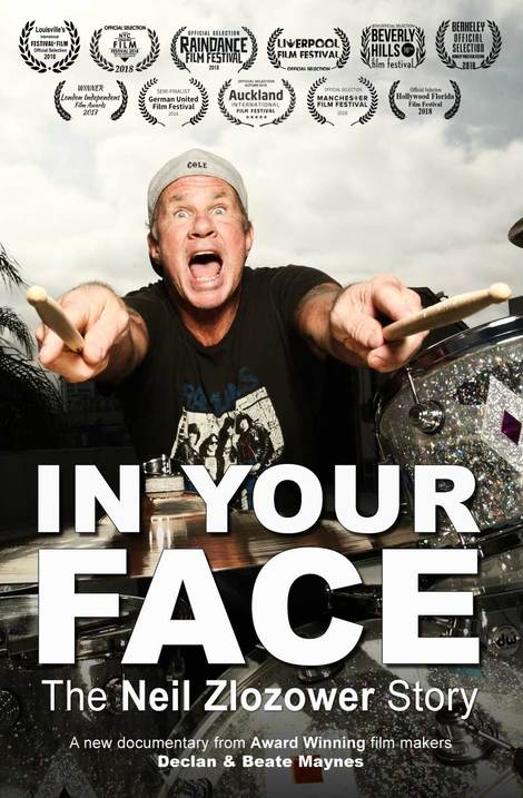 IN YOUR FACE - The Neil Zlozower Story Movie